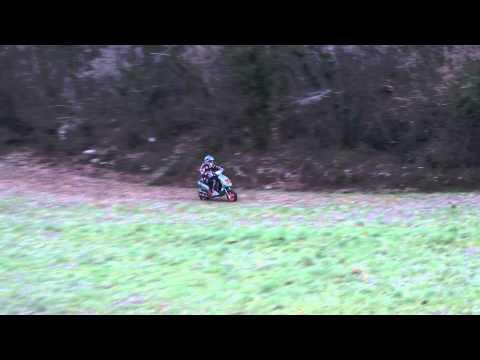 Doppio test NTT scootercross campionato 2013