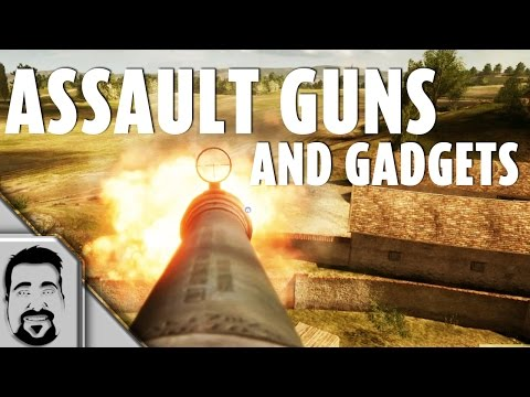 BATTLEFIELD 1 - ASSAULT Class GUNS And GADGETS (closed alpha)