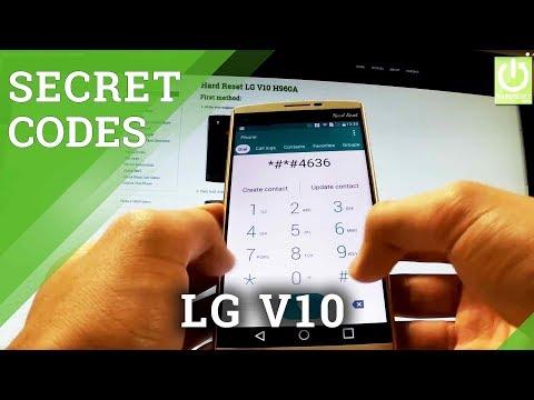 Secret Codes LG V10 H960A - Tips & Tricks / Hidden Menu