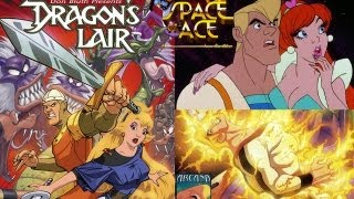 Dragon's Lair 1 & 2 + SPACE ACE PS3 (BLU RAY HD) ENG. Sub. ITA
