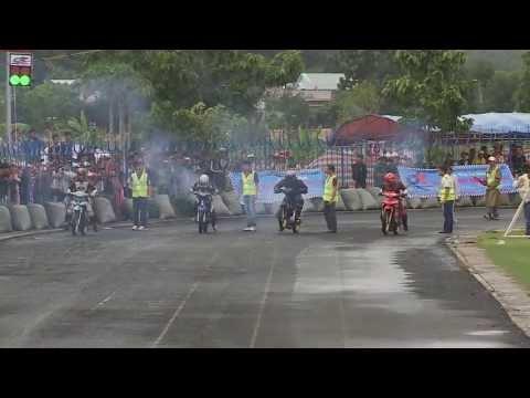Kết thúc vòng 5 Giải đua xe mô tô 125cc Bình Phước
