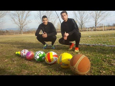 THE MULTI-BALL FOOTBALL CHALLENGE !!