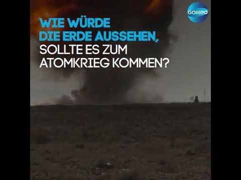 So Würde Die Welt Nach Einem Atomkrieg Aussehen Youtube