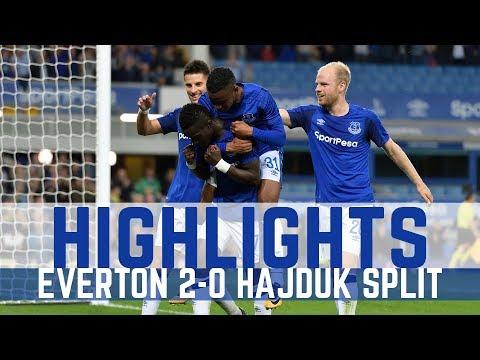 HIGHLIGHTS: EVERTON 2-0 HAJDUK SPLIT - EUROPA LEAGUE PLAY-OFF FIRST LEG