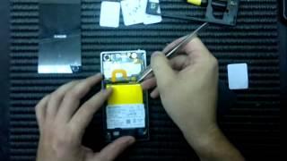 sony xperia z1 como abir troca do touch desmontagem lcd screen replacement