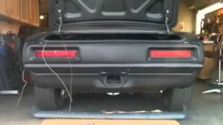 Sequential tail lights 68 camaro