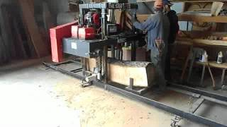The Wood Shop - Kasco Bandsaw Mill