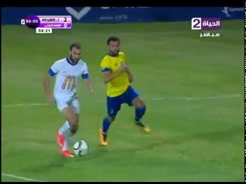 اهداف مباراة إتحاد الشرطة vs الإسماعيلي  2 / 0 ||الدورى المصرى 2016
