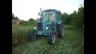 Сенокос трактором МТЗ-80!