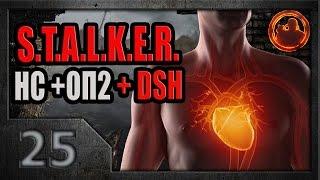 S.T.A.L.K.E.R. Народная солянка ОП-2 DSH mod 25. Живое сердце Сумасшедшего.