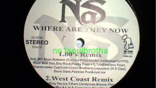 """Nas ft. Guests* """"Where Are They Now"""" (80's Remix)"""