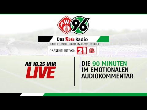 RE-LIVE: Das Rote Radio Zum DFB-Pokalspiel Bei Den Würzburger Kickers