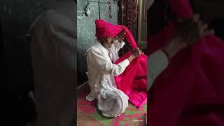 Traditional Maharashtra Feta Style | Maharashtrian Grandfather Wearing Feta ( Maharashtra Turban )
