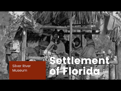 Settlement of Florida   Seminole Indians Part I
