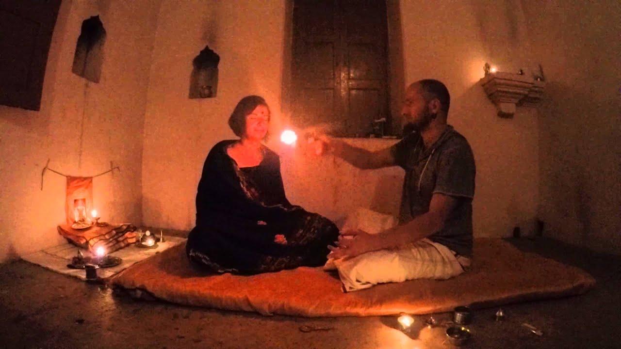 Tantra Ritual Pancha Puja to a tantric goddess invoked