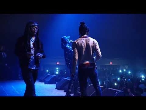 Migos Live!!! Awesome Footage of Migos in Concert!
