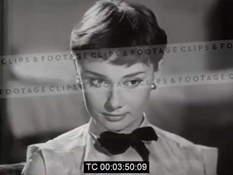 Audrey Hepburn Costume Test For Roman Holiday Youtube