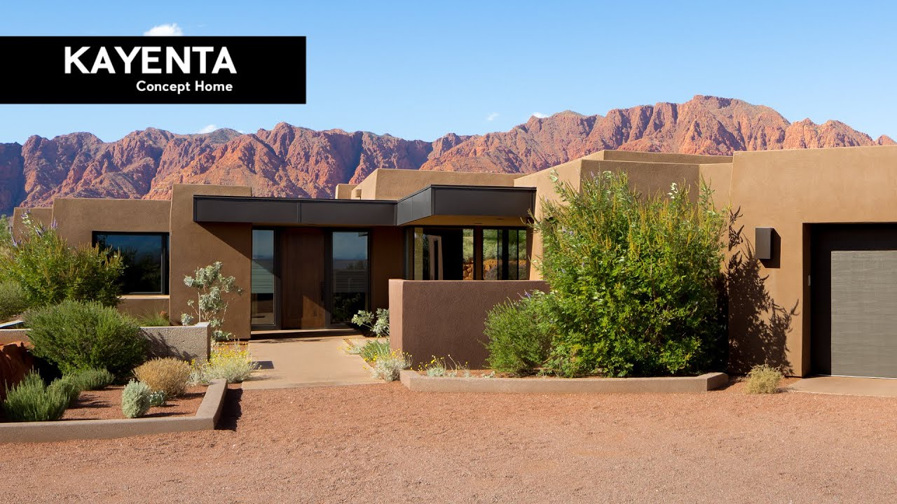 Desert architecture design 79 kayenta concept home for The design home