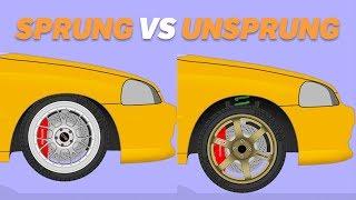 Sprung VS Unsprung Weight