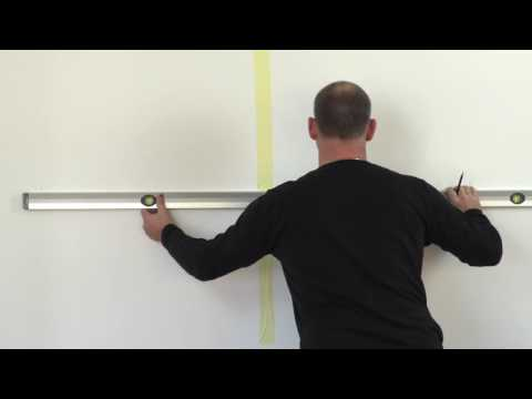 Montana Mounting Guide – 2 x 1112 on a plaster wall