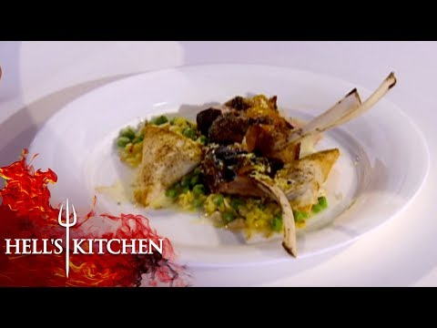 Indian Inspired Dish Causes Confusion | Hell's Kitchen