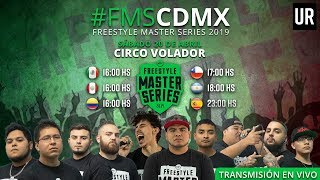 FMS MEXICO - Jornada 1 #FMSCDMX Temporada 2019