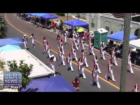 Bermuda Rifle & Drill Team In The Bermuda Day Parade, May 26 2014