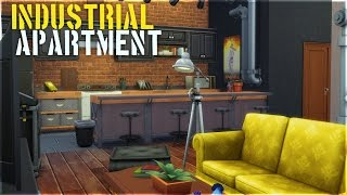 The Sims 4 Apartment Build - Industrial Apartment