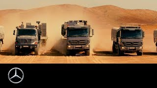 Mercedes-Benz Trucks: Masters of the Desert