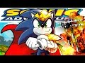 KING OF THE GLITCH BREAKS EGGMAN S SHIP Sonic Adventure DX Gameplay HD