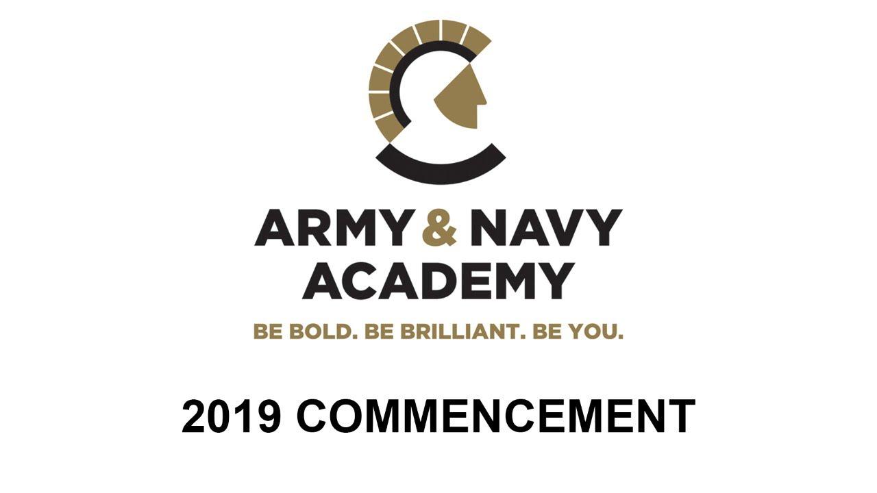 Army and Navy Academy Graduation 2019 - YouTube