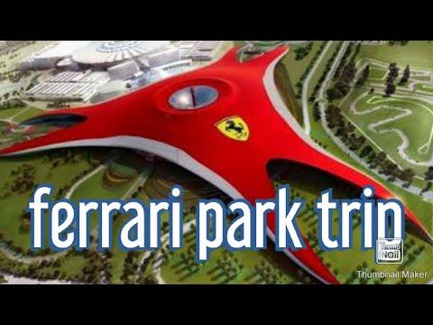 Ferrari world | Abu Dhabi Dubai | amusement park | formula rosa | Rides roller coasters ferrari|vlog