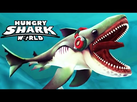 hungry shark world new shark megamouth youtube