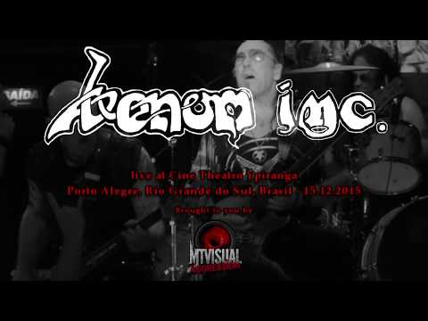 VENOM INC. - Live in Porto Alegre [2015] [FULL SET]