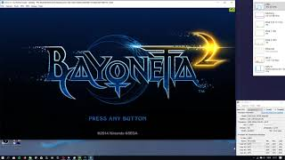Bayonetta 2 - Cemu 1.11.5c - GTX 750 Ti 2GB Video