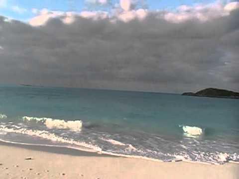 Peaceful Tropic of Cancer Beach on Little Exuma