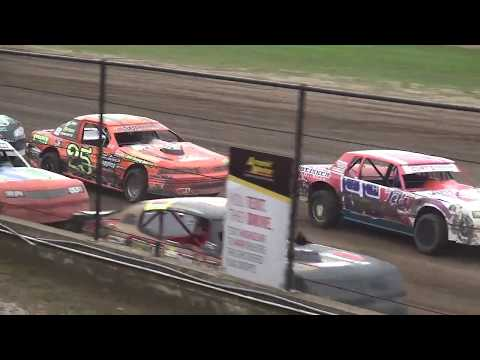 USRA Stock Car Heat 3 Fayette County Speedway West Union ,IA 9/1/19