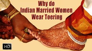 Toe Rings - Why do Indian Married Women Wear Toerings - Health Benefits and Significance - Hinduism