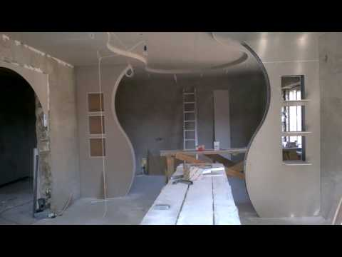 How To Make A Beautiful Wall Of Plasterboard Knauf
