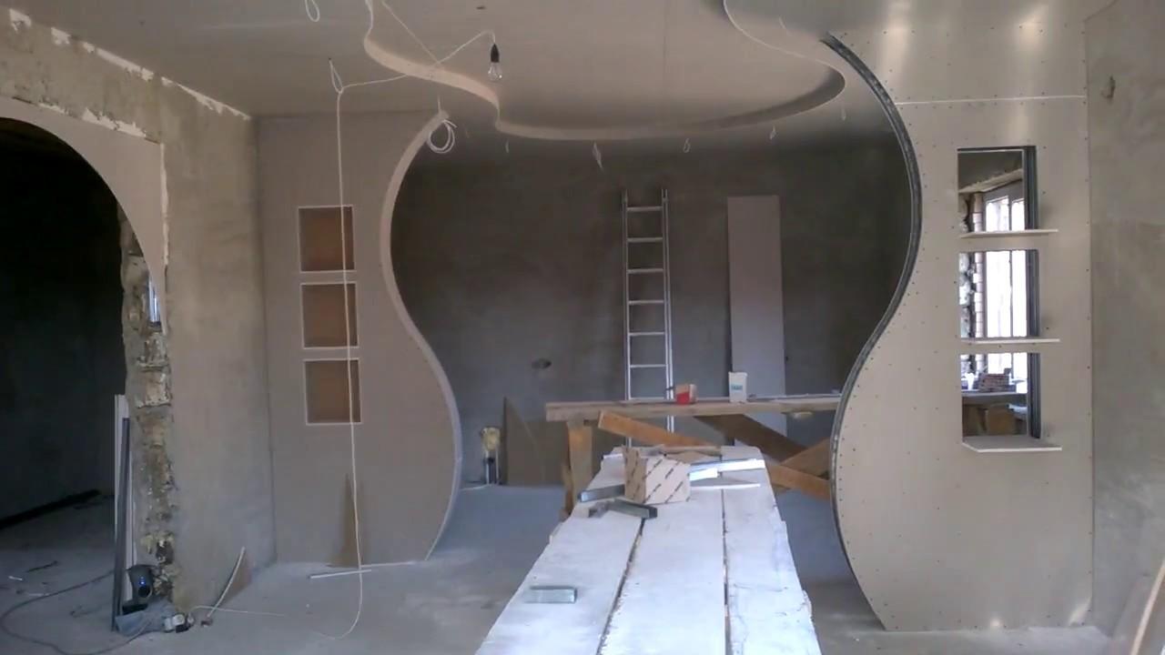 Knauf ceiling design for Gips decor ceiling