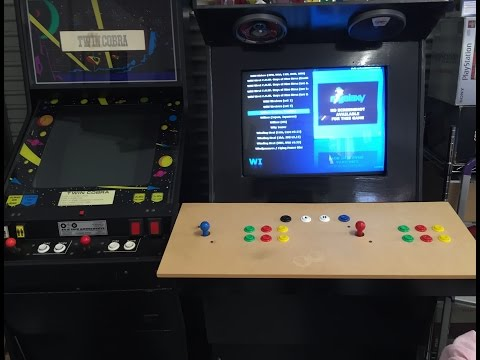 The Arcade Project – Part VI – Custom Horizontal Cabinet