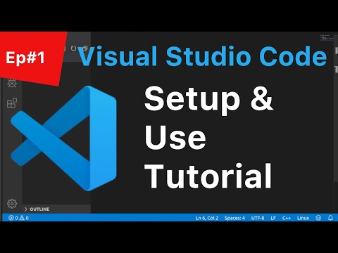 C++ Tutorial for Beginners #1: Visual Studio Code Programming Setup & Use   2019   (Linux) thumbnail