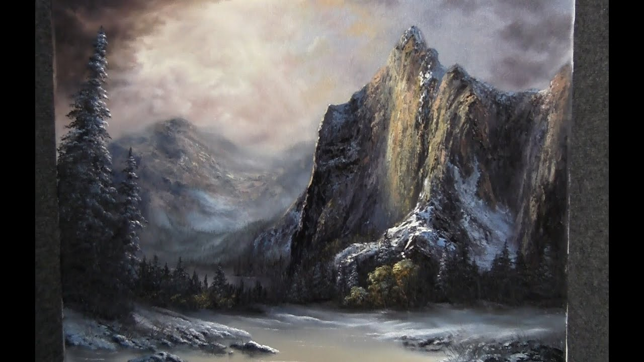 Paint With Kevin Hill The Towering Mountains Youtube