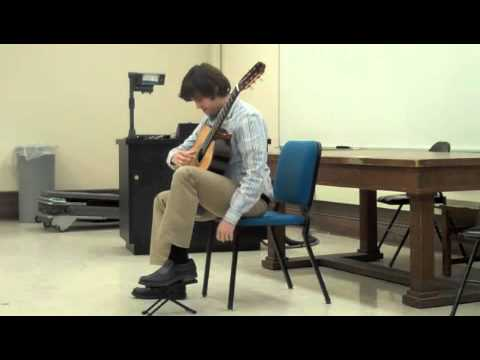 Josh Barrow performs the Allemande and Courante from Bach's 3rd Cello Suite, BWV 1009