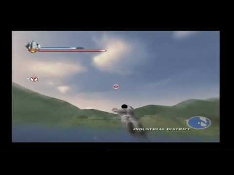 Superman Returns Gameplay flying superspeed