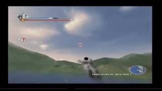 Superman Returns Gameplay flying superspeed