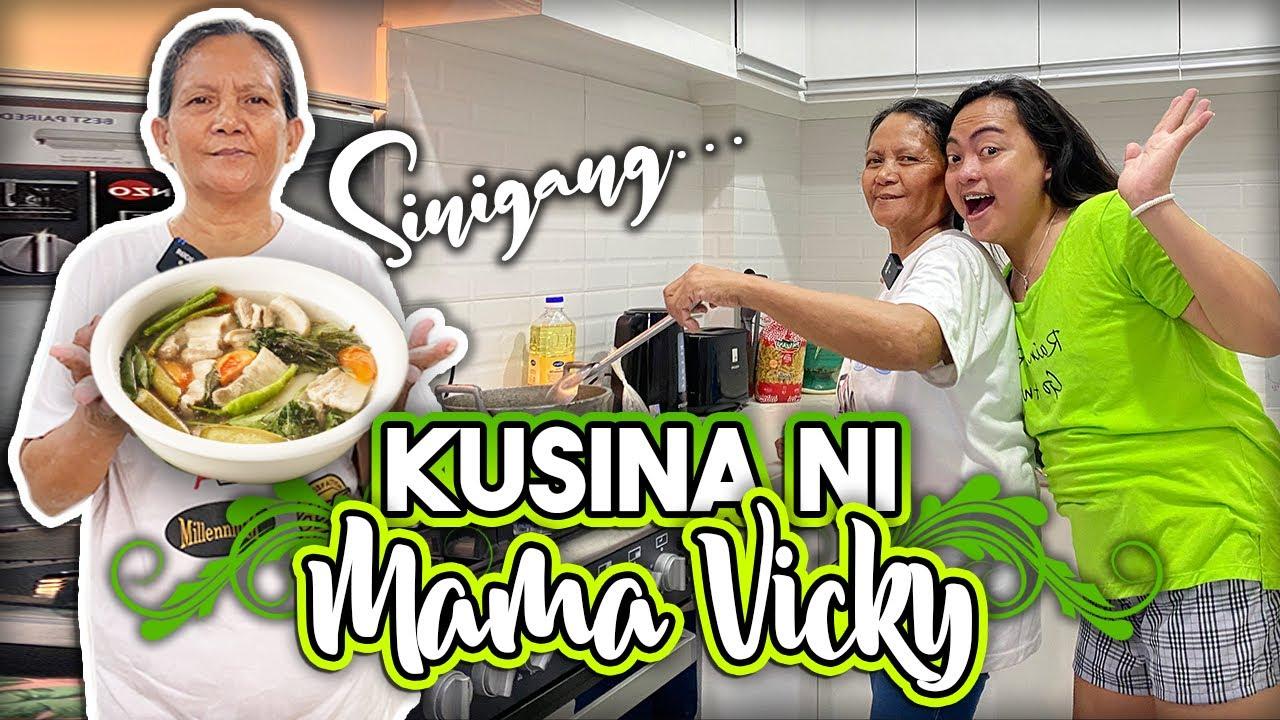 UNANG LUTO VLOG NI MAMA SA DREAM HOUSE (SINIGANG NA LOVE NAMIN) *Kusina Ni Mama Vicky