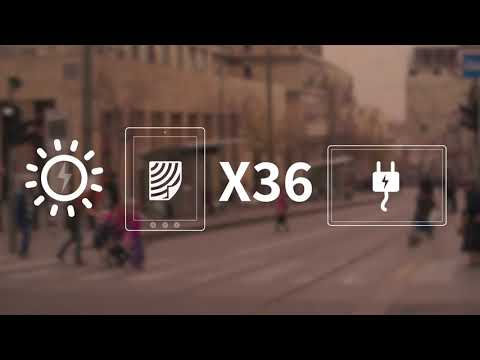 Papercast E-Paper Bus Stop Displays Are Transforming RTPI in Jerusalem - Video by Projective.co.il
