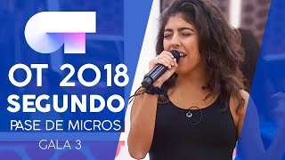"""GOD IS A WOMAN"" - ÁFRICA | Segundo pase de micros Gala 3 | OT 2018"