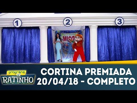 Cortina Premiada | Ratinho (20/04/18)